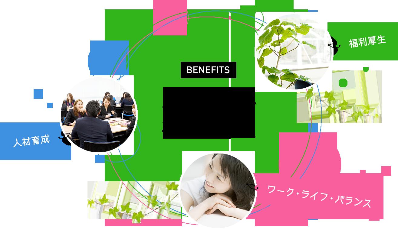 福利厚生 - Employee benefits